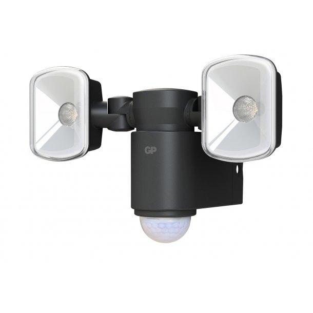 GP Safeguard RF2.1. Kraftig ledningsfri udendørs sensorlampe