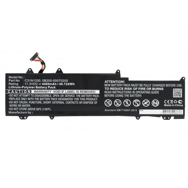 Image of C31N1330 batteri til bl.a. ASUS Zenbook UX32LA (Kompatibelt) 4400mAh