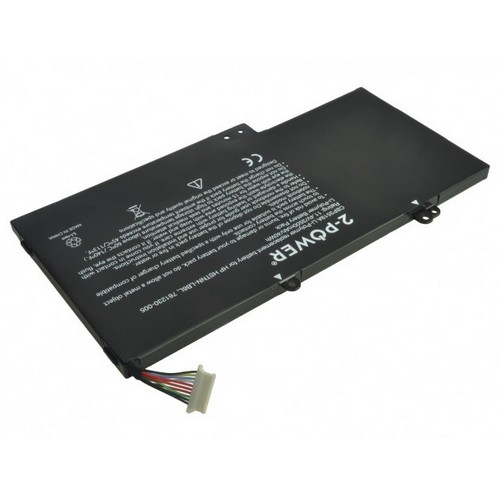 Image of   2-Power Laptopbatteri til bl.a. HP Envy 15-U Series (Kompatibelt) - 3772mAh