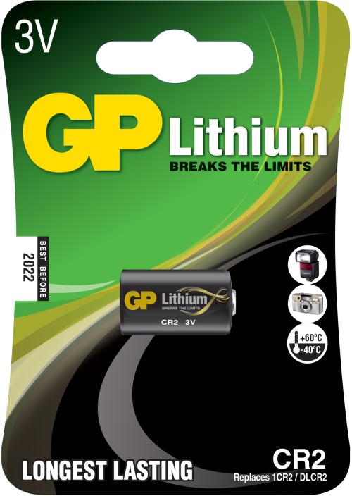 CR2 FotoLithium 3 Volt batteri