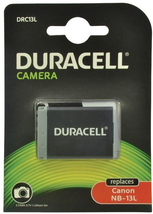 Duracell DRC13L kamerabatteri til Canon NB-13L 1010mAh