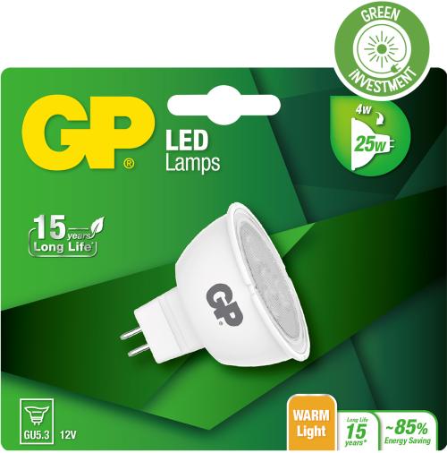 LED GU5.3, 4W (25W)