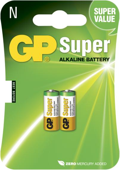 Billede af GP N Super Alkaline batterier / LR1