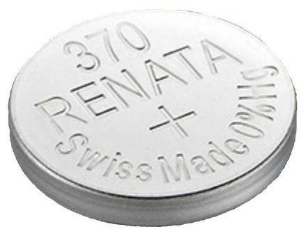 Renata 370 A1 - SR920W - 1,55 V Silver Oxide batteri