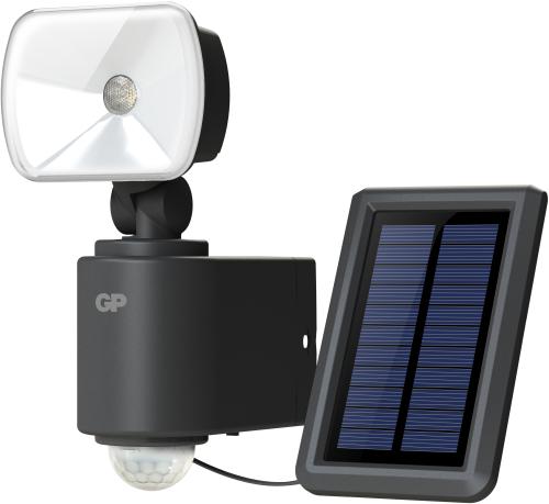 Billede af GP Safeguard RF3.1H. Kraftig ledningsfri udendørs sensorlampe m/Solceller
