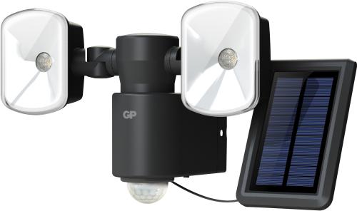 Billede af Kraftig ledningsfri udendørs sensorlampe m/Solceller RF4.1H